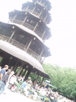 The Chinese Pagoda w/beer garden