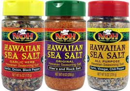 You can buy Hawaiian sea salt varieties at grocery stores in the islands.