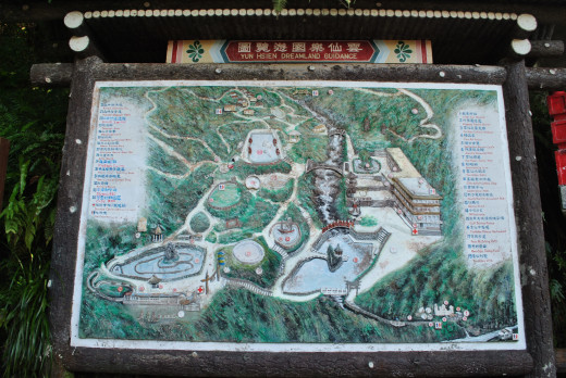It is a map of the resort. It is quite huge and a lot of fun things to do.