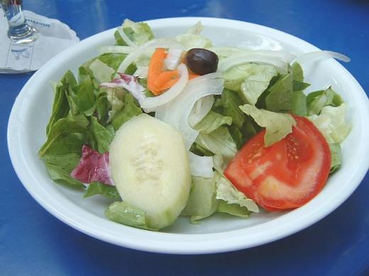 mmmmm Greek salad.