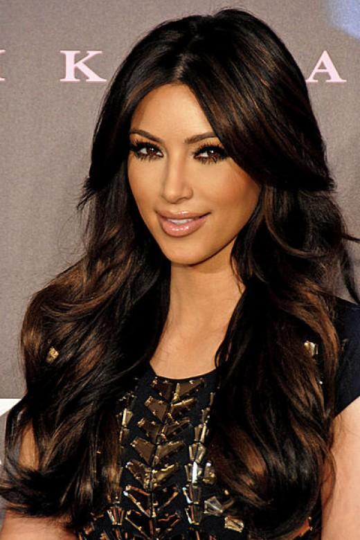 "Kim Kardashian, star of reality TV show ""Keeping up With the Kardashian's"""