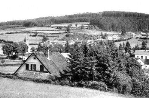 Schonberg, Belgium in a prewar photo.