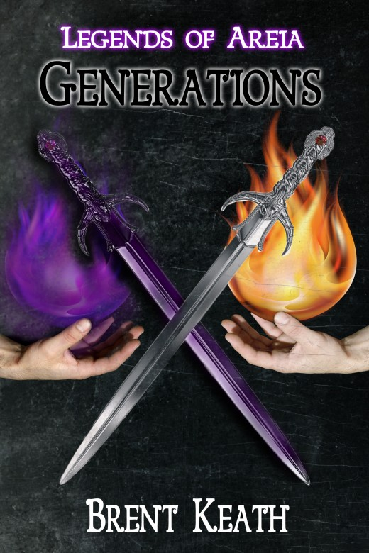 The official cover of the first book in the Legends of Areia Series.