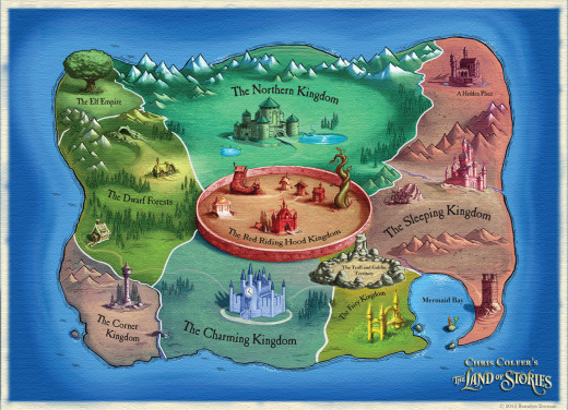 Map by Brandon Dorman