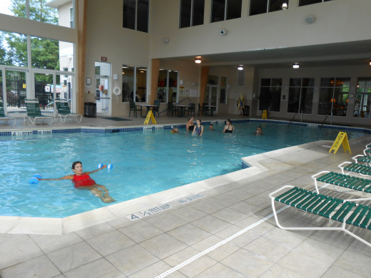 The Indoor Pool at Vacation Village