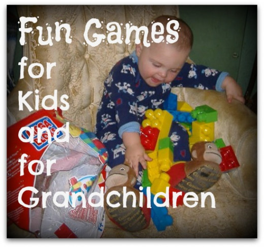 Games for kids and grandchildren don't have to be expensive. Playing with blocks and beads with your grandchildren can be hours of fun