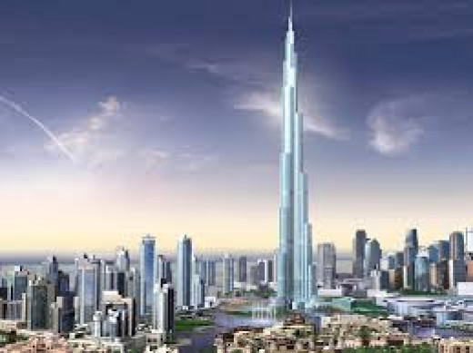 Burj Khalifa of Dubai- Worlds Tallest Tower