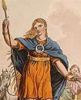 Boudicca,the Celtic Queen led the great revolt