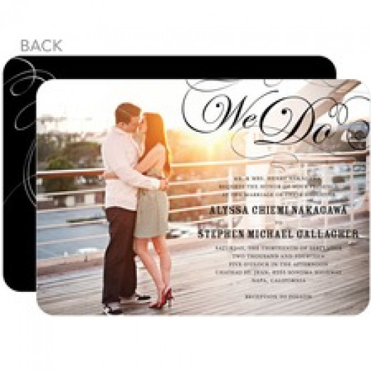 Invitation by Wedding Paper Divas