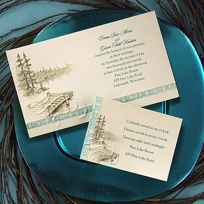 Wedding Invitation by 1st Class Wedding Invitations