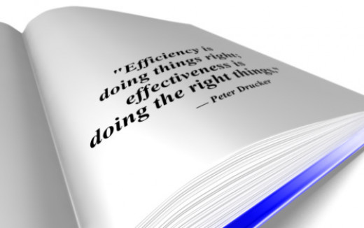 Peter Drucker and the Right Things