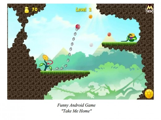 "A Funny Android Game ""Take Me Home"""