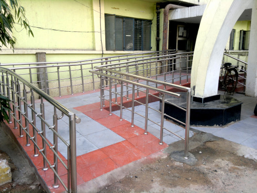 Modifications to buildings such as ramps can make a huge difference to the lives of people with disabilities.