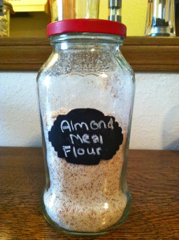 Store away your homemade almond flour and pull out your recipe book!