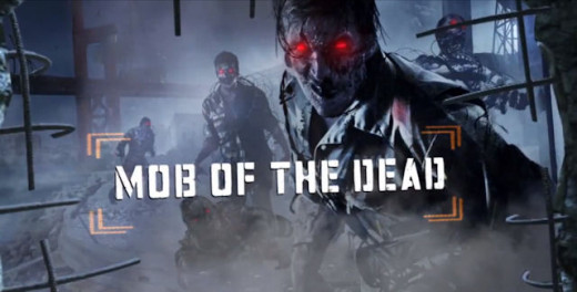 Mob of the Dead zombies map from Black Ops 2's second DLC -- Uprising.