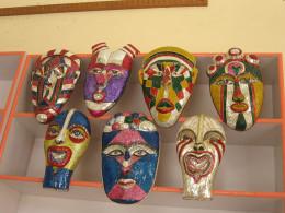 Masks at display