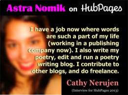 Quote from Cathy Nerujen