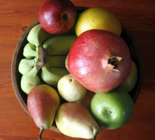 Fresh fruit is good for almost any guest and takes almost no preparation.
