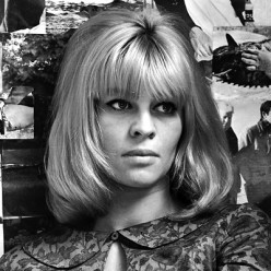 Julie Christie was an icon of the of the 'swinging London set'