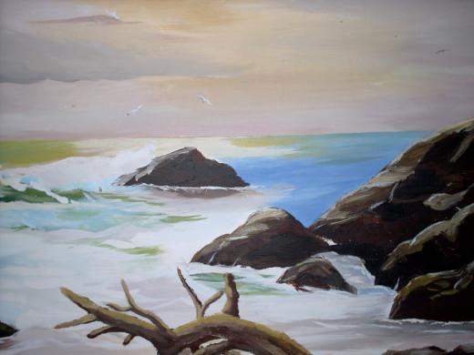 Calmer shore