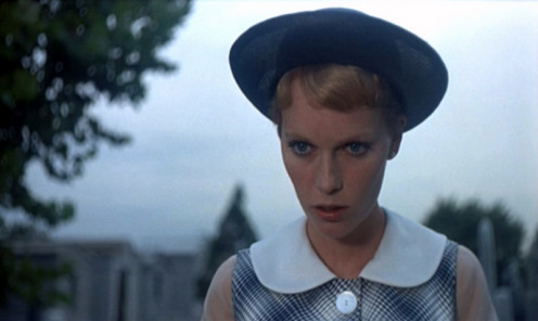 Mia Farrow, in a still from Polanski's 'Rosemary's Baby'