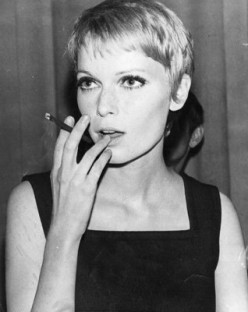 Mia Farrow in the 1960s