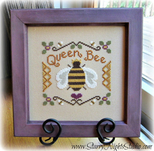 Queen Bee Framed Art