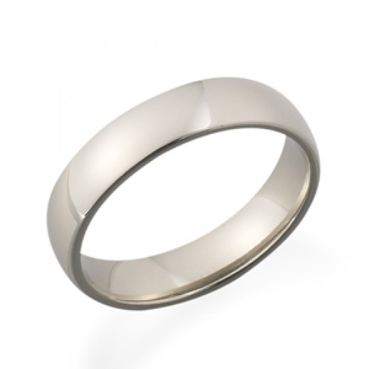950 Palladium Wedding Band