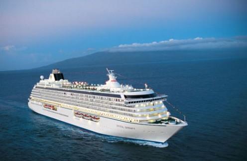 The Crystal Serenity at sea (ships-info.com)