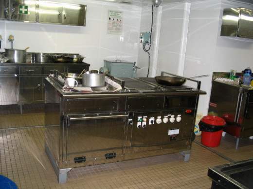 Temperature requirement varies with nature of the place. Galley require much higher volume of air and low temperature than stores