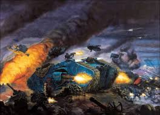 Space Marine Apocalypse Formations 40k
