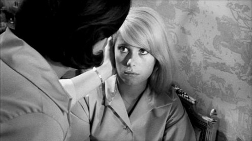 Catherine Deneuve in a still from 'Repulsion'