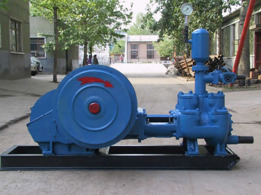 An Electrically Driven Reciprocating Pump Before Installation