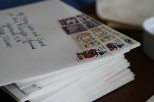 Wedding Invitation Envelopes, Wedding Invitation Postage