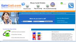 An online calling card merchant