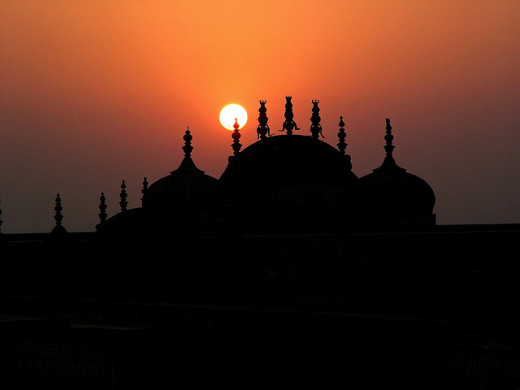Sunset at Nahargarh Fort