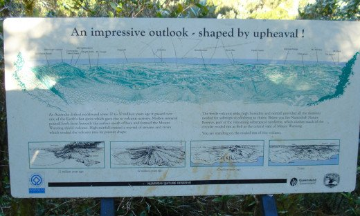 The Information Board at the Lookout