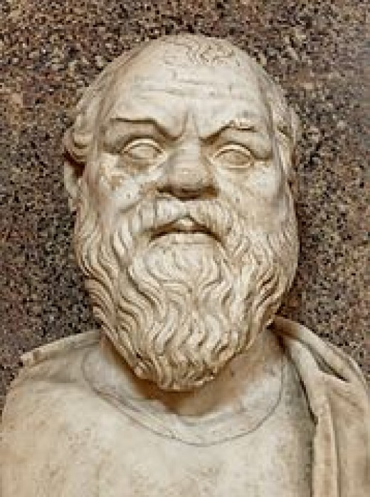 Socrates (Athens, 469 - 399 BC) believed that the will can only follow the good (or at least, what it thinks to be the good). The knowledge of good leads the will: this is quite a deterministic vision, isn't it?