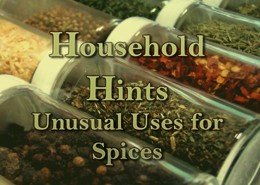 Unusual uses for common spices