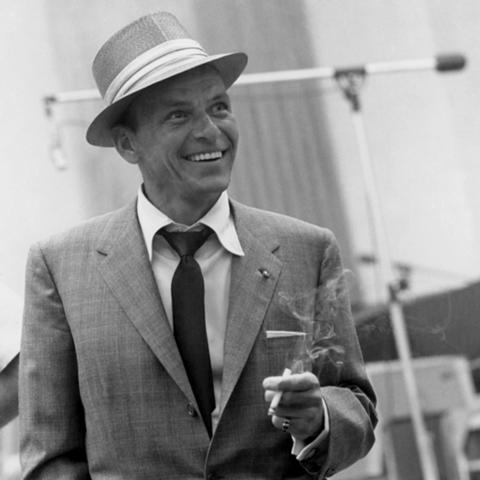Frank Sinatra at the height of his career