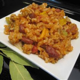 I really like the taste of white jambalaya it is really different than the rest but it really taste even better when it is cooked all together.