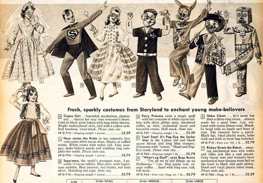 1958 Costumes