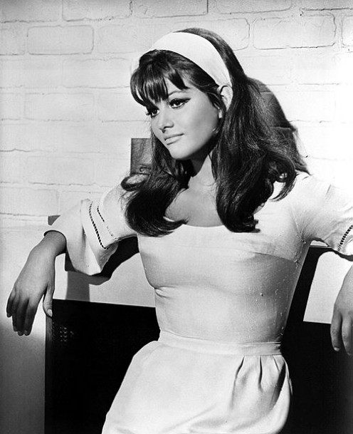 "Still from ""Don't Make Waves"", 1967, showcasing some of Claudia Cardinale's many assets"