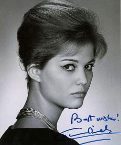 Claudia Cardinale publicity shot