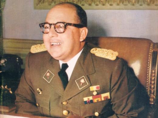 Dictator Marcos Perez Jimenez