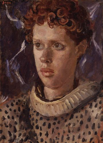 Portrait of a young Dylan Thomas by Augustus  John from RasMarley  flickr.com