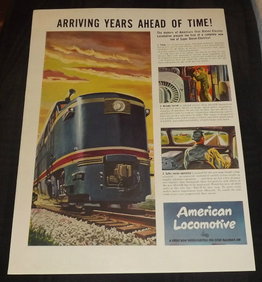 1946 American Locomotive Ad