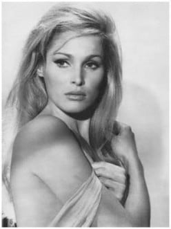 Ursula Andress, the original Bond girl
