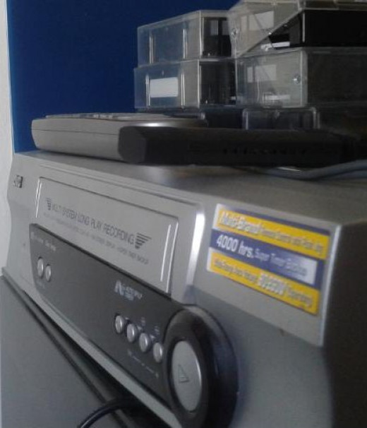 VCR with Old Videos