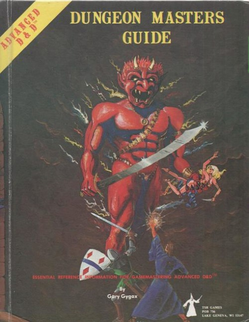 1st edition AD&D Dungeon Masters Guide